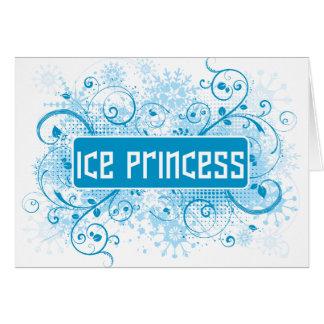 SkateChick Princess Card