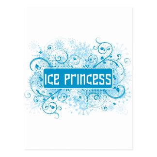 SkateChick Princess Postcard