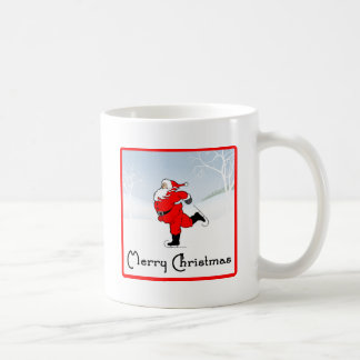 SkateChick Santa Coffee Mug