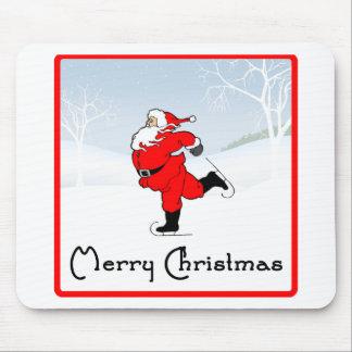 SkateChick Santa Mouse Pad