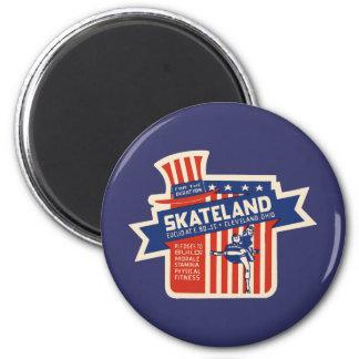 Skateland Cleveland Rollerskating Refrigerator Magnets