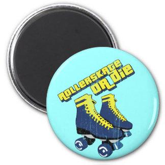 skateordie 2 inch round magnet