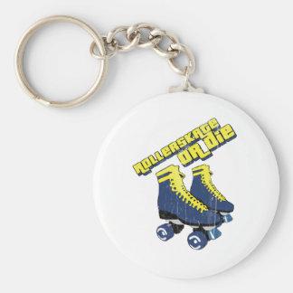 skateordie basic round button keychain