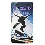 Skater 4 Life - Droid RAZR Motorola Droid RAZR Cases