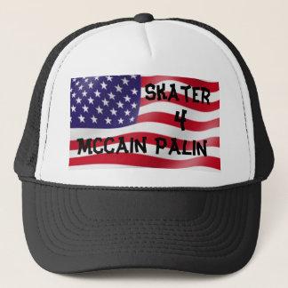 Skater 4 McCain Palin Tucker Hat
