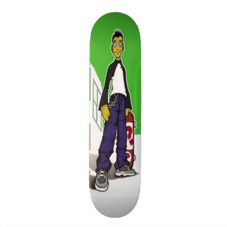 Skater adolescente - monopatín tablas de patinar