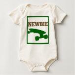 Skater Baby - Newbie (brown/green) Baby Creeper