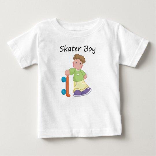 Skater Boy Baby Baby T-Shirt