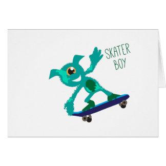 Skater Boy Greeting Card