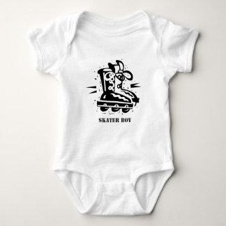 Skater Boy - Rollerblading Baby Bodysuit