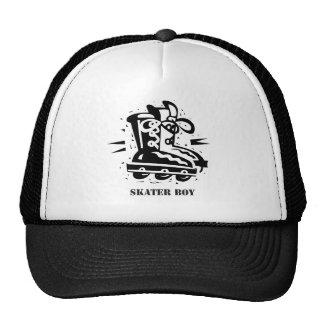 Skater Boy - Rollerblading Trucker Hat