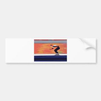 Skater Bumper Sticker