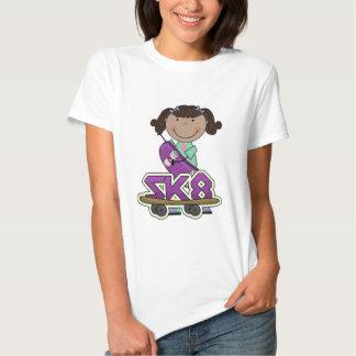SKATER - camisetas afroamericanas del chica Poleras