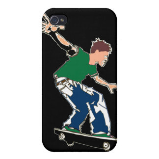 Skater - caso del iPhone 4 iPhone 4 Carcasa