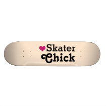 Skater Chick Skateboard Deck