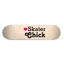 Skater Chick Skateboard Deck