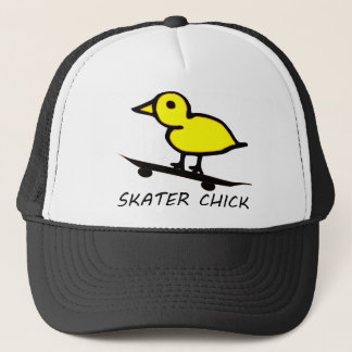 Skater Chick Trucker Hat