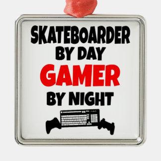 Skater del videojugador adorno para reyes