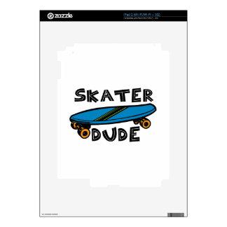 Skater Dude iPad 2 Skin