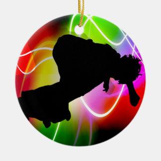 Skater eléctrico del espectro ornamentos para reyes magos