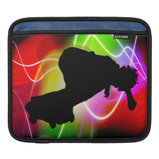 Skater eléctrico del espectro mangas de iPad