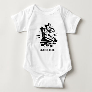 Skater Girl 2 Baby Bodysuit