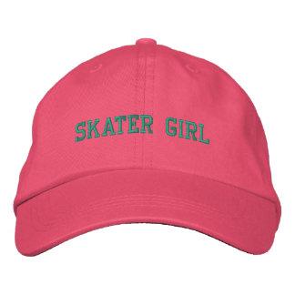 Skater Girl Embroidered Cap Embroidered Baseball Cap