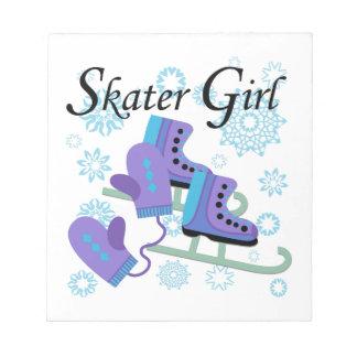 Skater Girl Notepad
