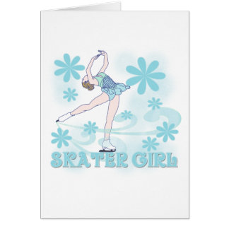 Skater Girl Tshirts and Gifts Card