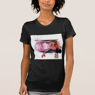 Skater Girl with Tag copy T-Shirt