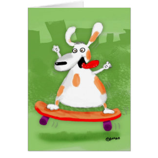 Skater Greeting Cards