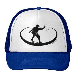 Skater Hat Blue Transparent