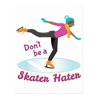Skater Hater Postcard