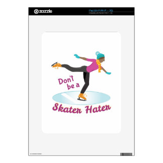 Skater Hater Skin For The iPad