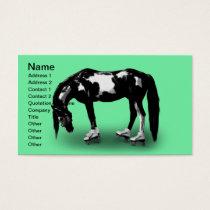 Skater Horse Business Card