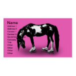 Skater Horse Business Card Template