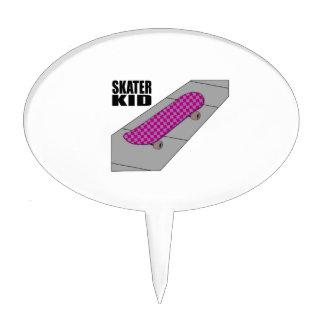 Skater Kid Cake Pick