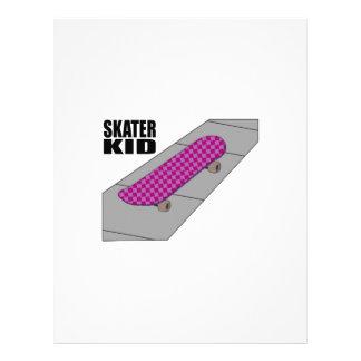 Skater Kid Custom Letterhead