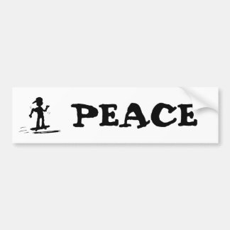 Skater Kid - nd Car Bumper Sticker