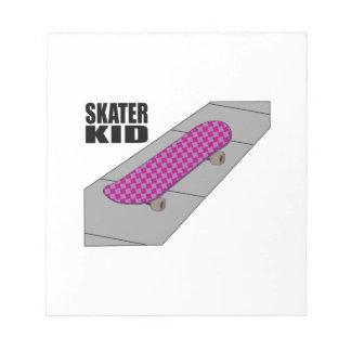 Skater Kid Memo Note Pads