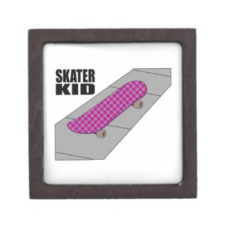 Skater Kid Premium Trinket Boxes
