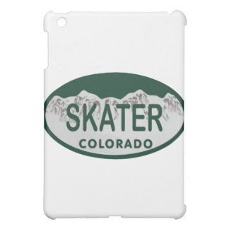 Skater license oval iPad mini cases