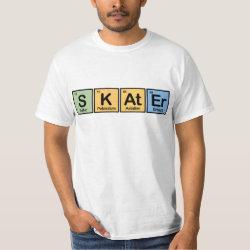 Men's Crew Value T-Shirt with Skater design