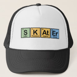 Trucker Hat with Skater design