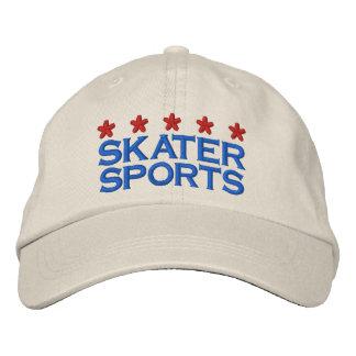 SKATER OF SPORT EMBROIDERED BASEBALL HAT