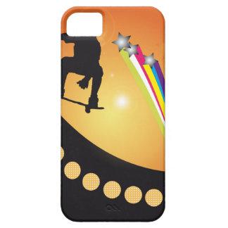 Skater On Ramp Shooting Stars iPhone SE/5/5s Case
