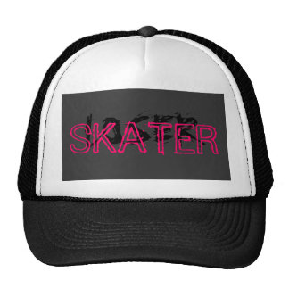 Skater painted over Loser Trucker Hat