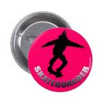 Skater Pin Redondo 5 Cm