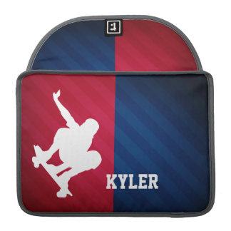 Skater; Red, White, and Blue Sleeve For MacBooks