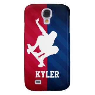 Skater; Red, White, and Blue Samsung Galaxy S4 Case